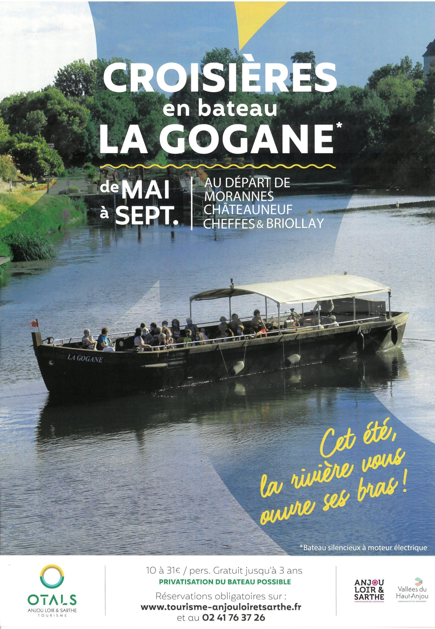 Croisières en bateau La GOGANE